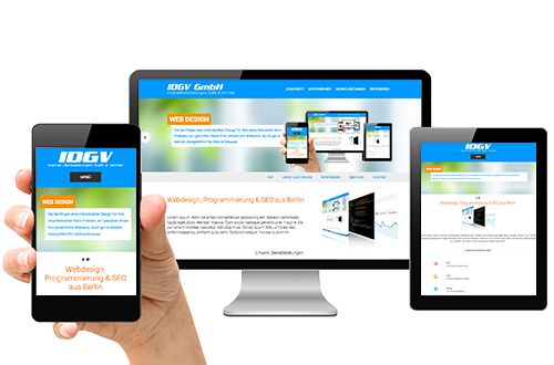 Sie benötigen eine individuelles Design für Ihre neue Webseite? Kein Problem, wir gestalten Ihnen Ihre persönliche Webseite. Auch gerne Medien übergreifend für Mobile Browser.